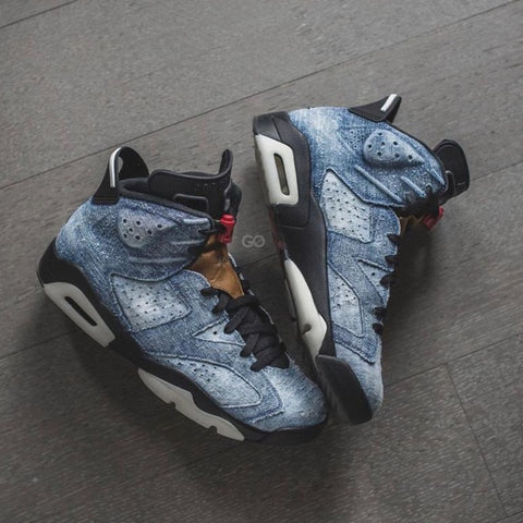 Buy first copy Nike Air Jordan Retro 6 Denim shoes online | DOPESHOP