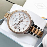 Buy first copy Fossil Tailor Multi Two Tone ES-4396 watch online | DOPESHOP