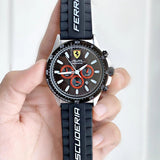 Buy first copy Ferrari Scuderia Pilota Cronometro watch online | DOPESHOP