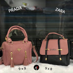 Buy first copy Prada & Zara Combo purses online | DOPESHOP