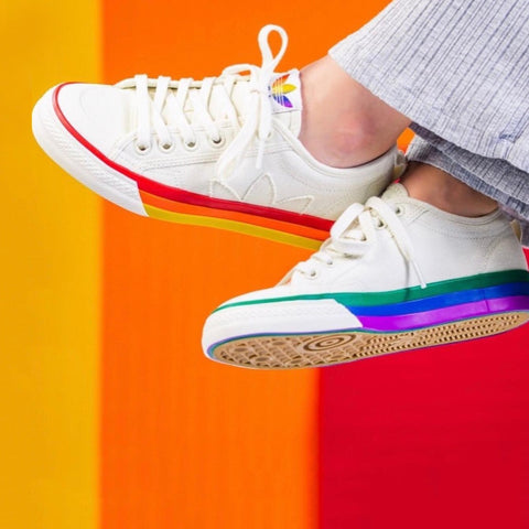 Buy first copy Adidas Nizza Pride Pack shoes online | DOPESHOP