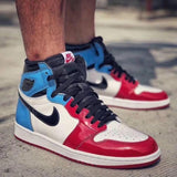 Buy first copy Nike Air Jordan Retro 1 Fearless Shoes online | DOPESHOP