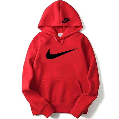 Buy first copy Nike Red Men's Hoodie online | DOPESHOP