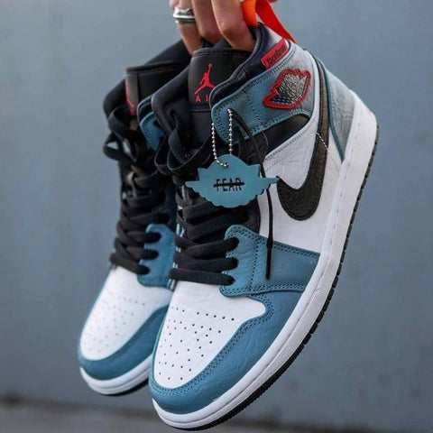 Buy first copy Nike Jordan 1 Mid Cspace Facetasm X shoes online | DOPESHOP