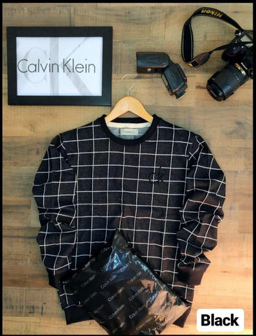 calvin klein sweat T-shirt