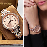 Buy first copy Michael Kors Sofie Pave MK-3882 watch online | DOPESHOP