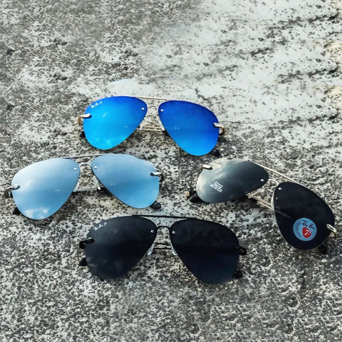 Buy first copy Rayban Aviator Polarized Sunglasses online | DOPESHOP