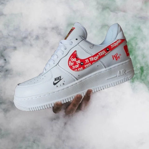 "NIKE AIRFORCE ""JUST DO IT"""