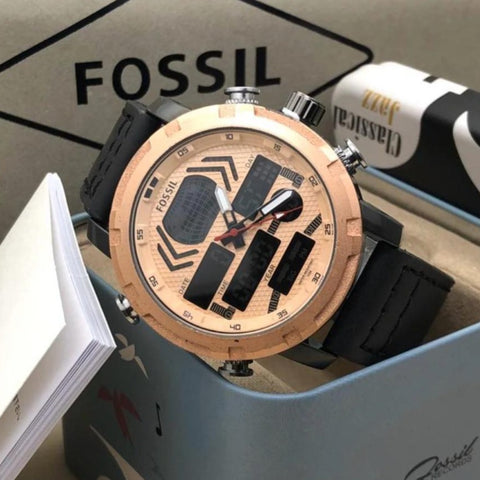 Buy first copy Fossil Water Resistant Watch online | DOPESHOP