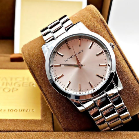 Buy first copy Michael Kors Slim Runway watch online | DOPESHOP