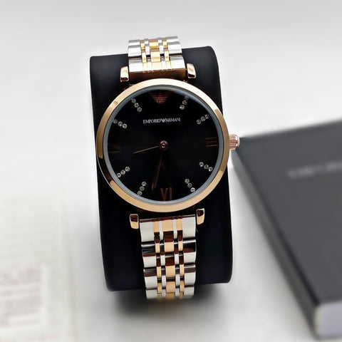 Buy first copy Emporio Armani AR-1840 Woman two-hands stainless steel watch online | DOPESHOP
