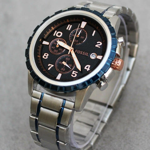 Buy first copy Fossil Chronograph watch online | DOPESHOP