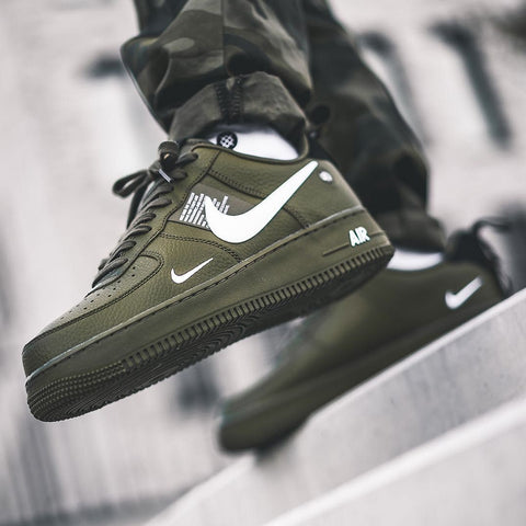 Nike AIRFORCE UTILITY Olive first copy shoes