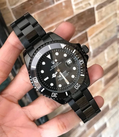 Rolex Submariner Black Semi Automatic Men's Watch