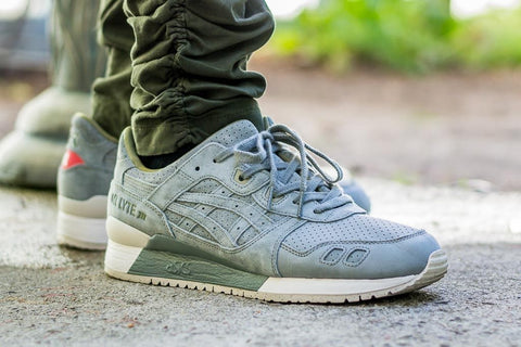 ASICS TIGER GEL LYTE 3 GREEN LIGHT
