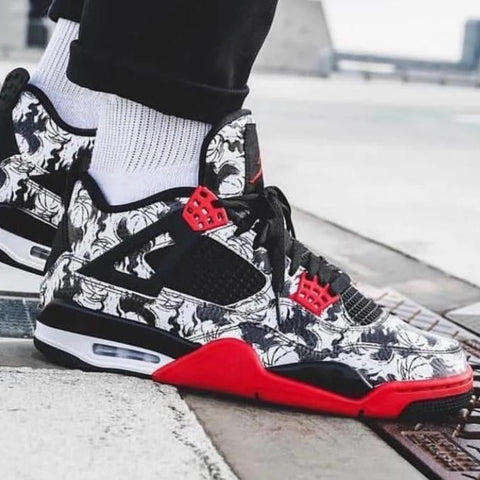 NIKE AIR JORDAN RETRO 4 TATOO