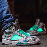 Buy first copy Jordan Retro 5 Wings shoes online | DOPESHO