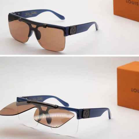 Buy first copy Louis Vuitton Square Folding sunglasses online | DOPESHOP