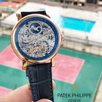 Patek Philippe skeleton blue