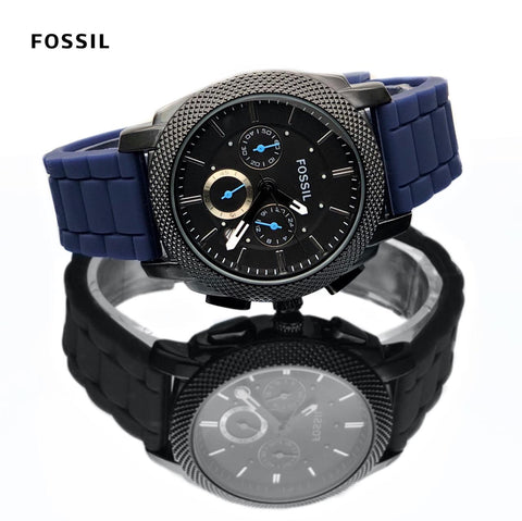 FOSSIL SILICON BLUE
