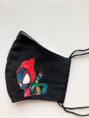 Spiderman Miles Morales  Face Mask
