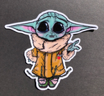 Baby Yoda Iron on Patch