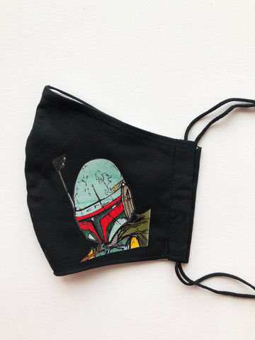 Boba Fett Face Mask