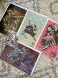 demon slayer collection 1 with sticker pack