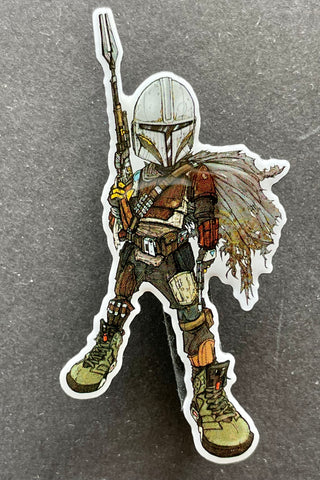 Mando Off-set printed pin