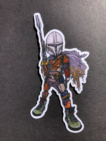 The Mandalorian Iron Patch