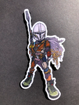 The Mandalorian Velcro patch