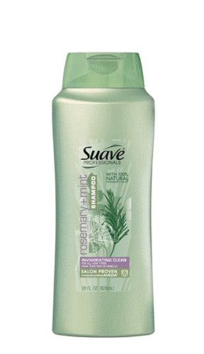 Suave Professionals Shampoo, Rosemary Mint, 28 Ounce