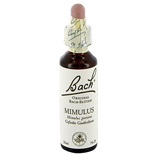 Bach Flower Remedy Mimulus Drops 20 Ml