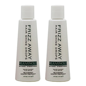Rejuvenol Frizz Away Hair Shine Drop 6Oz