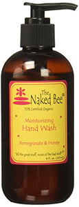 The Naked Bee Pomegranate And Honey Hand Wash, 8 Ounce