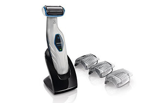 Norelco Water Resistant Men'S Electric Body Groomer With Cordless Shaving Attachment