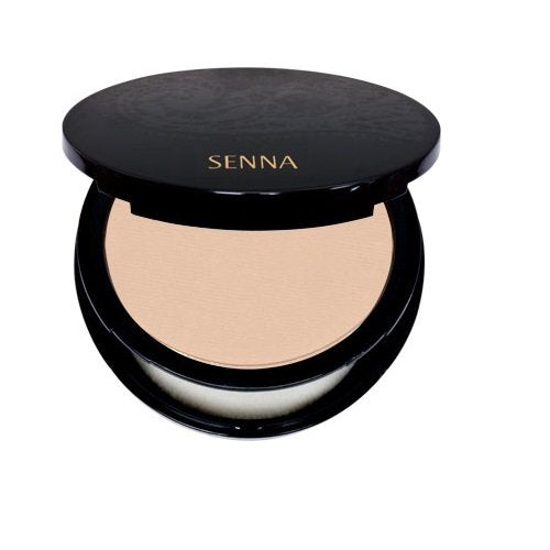 Senna Cosmetics Mineral Mix Pressed Foundation, Light, 0.32 Ounce