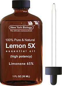 Lemon Essential Oil - Premium Therapuetic Grade -1 Fl Oz