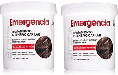 Toque Magico (W/Shower Cap) Emergencia Deep Intensive Treatment 16Oz