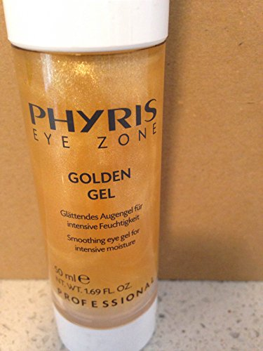 Phyris Eye Zone Golden Eye Gel 50 Ml Pro Size  Smoothing Gel Formulation  For The Eye Area With A Delicate Golden Shimmer
