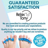 Premium Gel Toe Separators, Straighteners &Amp; Spacers | Hammer Toe &Amp; Bunion Corrector For Men &Amp; Women | Correct Your Toes Naturally | Use For Pedicure, Yoga &Amp; Running