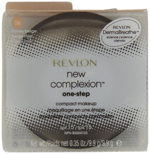 Revlon New Complexion One-Step Makeup, Spf 15, Honey Beige 06, 0.35 Ounce