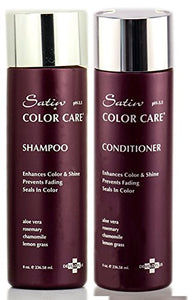 Satin Color Care Shampoo 8Oz & Conditioner 8Oz