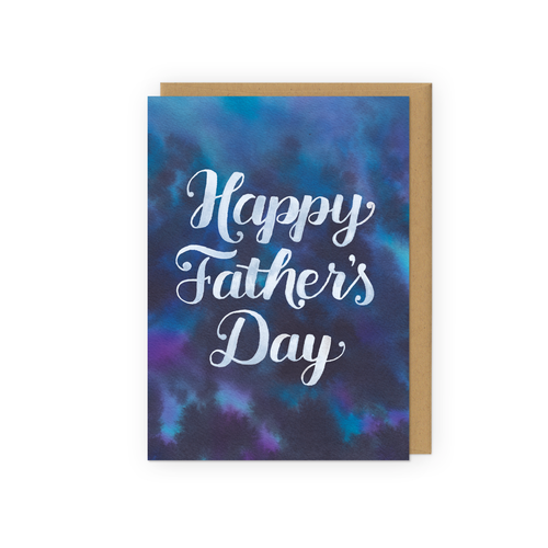 Happy Father's Day - Tie Dye