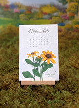 Load image into Gallery viewer, 2021 Plantable Wildflower Calendar