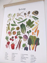 Load image into Gallery viewer, Four Seasons of Local Produce Prints