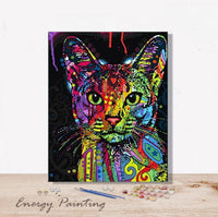 REF004-ENERGY-PAINTING-PEINTURE-PAR-NUMERO-CHAT-TACHE-COLORE