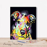 REF192-ENERGY-PAINTING-PEINTURE-PAR-NUMERO-STAFFY-TACHE-COLORE