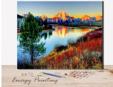 REF213-ENERGY-PAINTING-PEINTURE-PAR-NUMERO-SUNSET