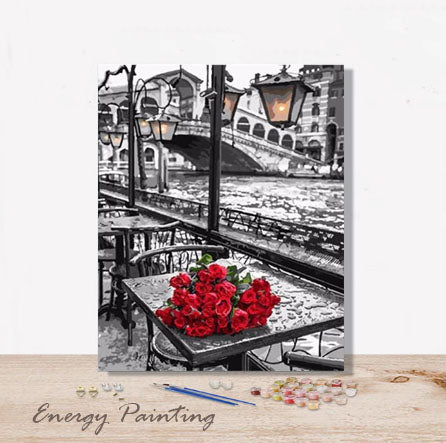 REF227-ENERGY-PAINTING-PEINTURE-PAR-NUMERO-ROSES-SUR-LA-TABLE
